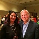With Jack Canfield at the California Women's Conference