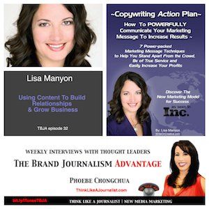 Brand Journalism with Phoebe Chongchua and Lisa Manyon on building relationships and  business growth with content